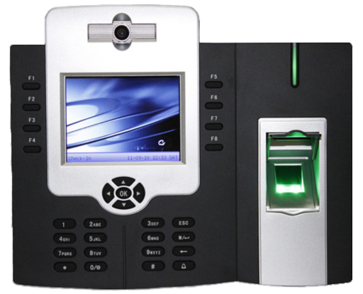 Iclock880 Multi Media Fingerprint Time Attendance And